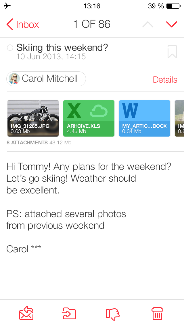How do I send multiple attachments within a single email?